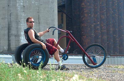 Gladiator Chopper Trike