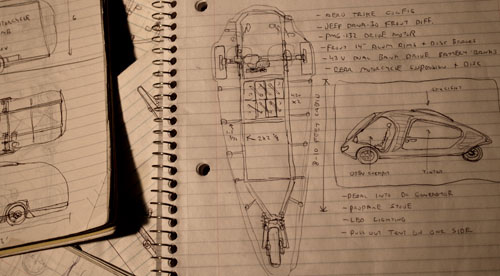 Work on the Arcturus Camper Cycle begins this summer