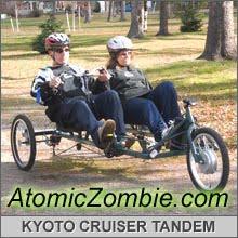 Kyoto Cruiser Quad Bike with Electric Hub Motor