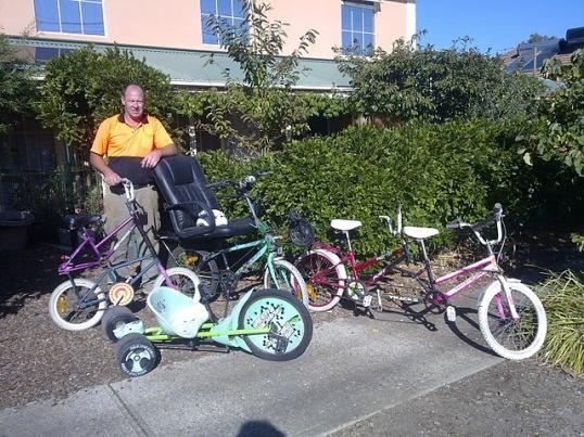 Bike Builder Peter T from Australia.