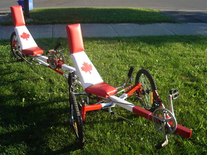 Tandem Recumbent Trike Plans Recumbent Tandem Trike