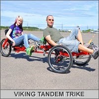 viking recumbent tandem trike designed by atomiczombie.com