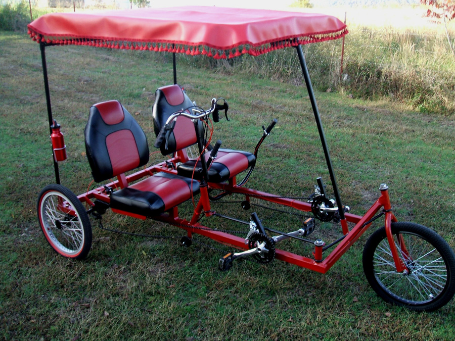 Cool Kyoto style touring trike AtomicZombie builders