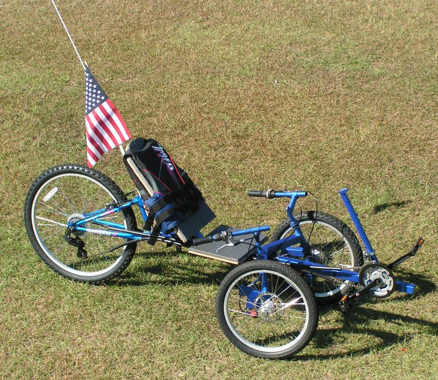 Bike bicycle chopper tandem recumbent trike electric ebike for Recumbent bike with electric motor