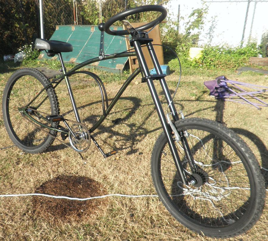 Bike Bicycle Chopper Tandem Recumbent Trike Electric Ebike