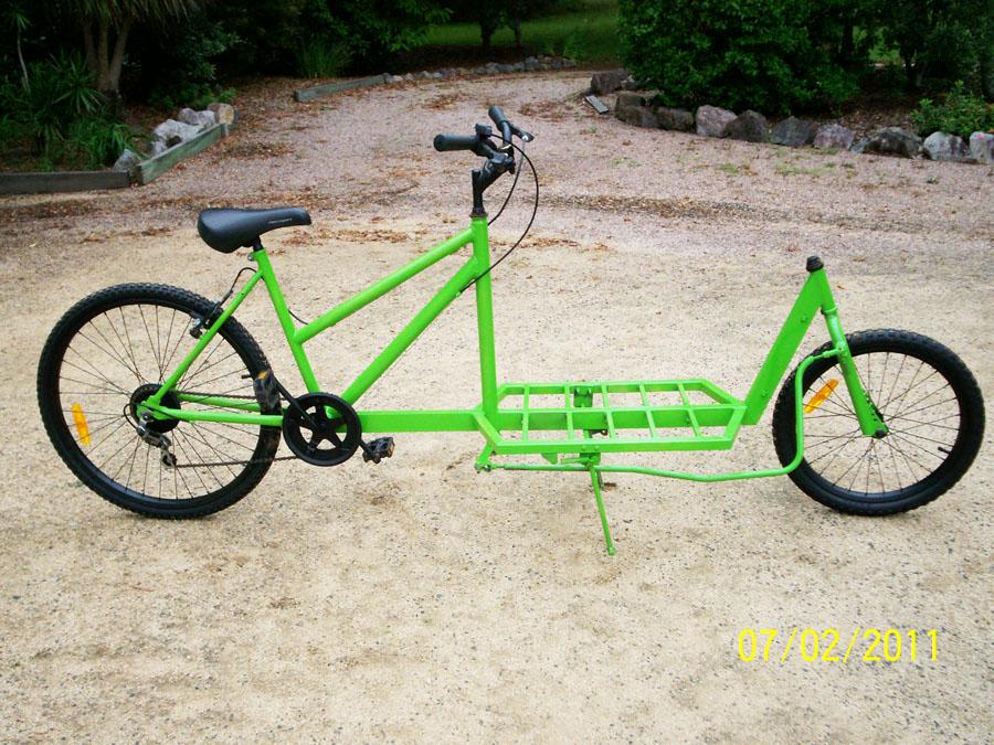 Recumbent Bike Plans Recumbent Cargo Bike From
