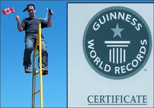 world record skycycle