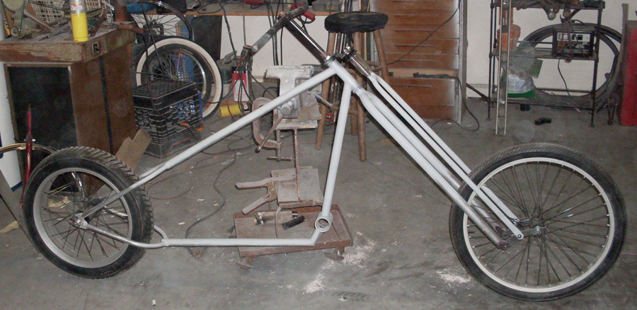 how to build a chopper bike