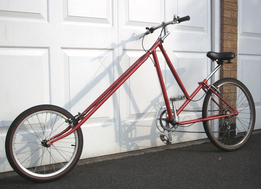 UK handmade bike chopper – Atomic Zombie builders gallery