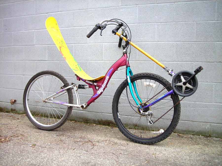 Atomic Zombie Extreme Machines Home Built Diy Bikes Velos