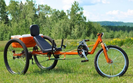 TimberWolf recumbent delta trike - New DIY plan from Atomiczombie.com