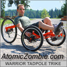 atomic zombie warrior tadpole trike
