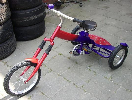 hand made kids' trike