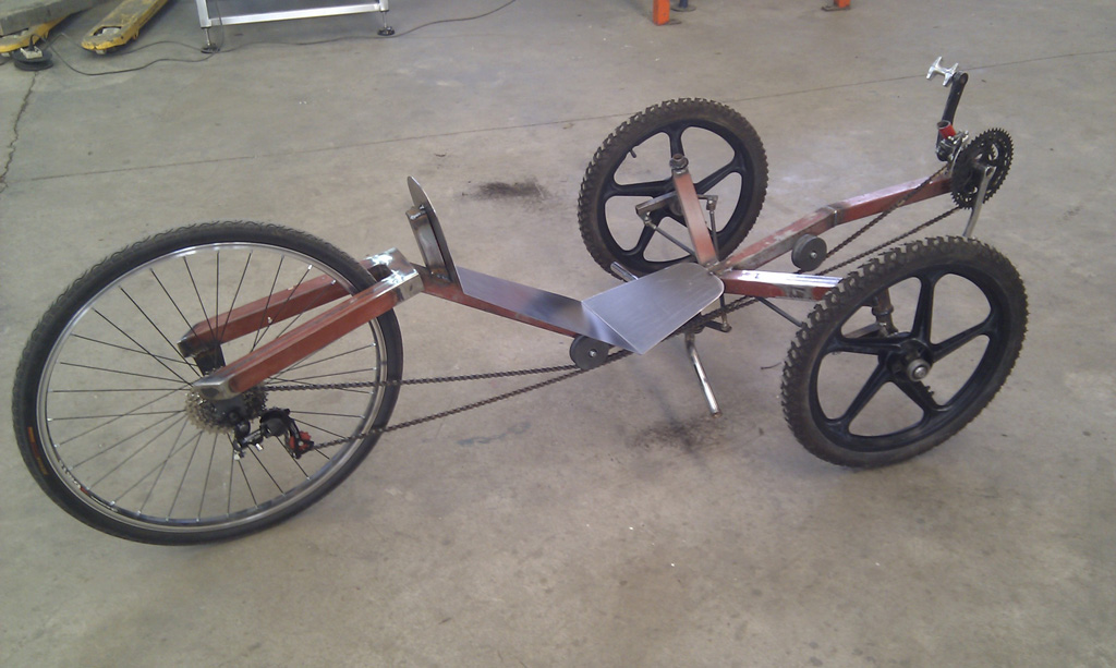 How To Build A Recumbent Bike Plans