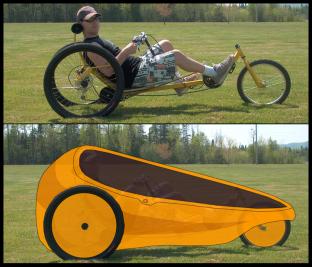 DeltaWolf trike design best velo